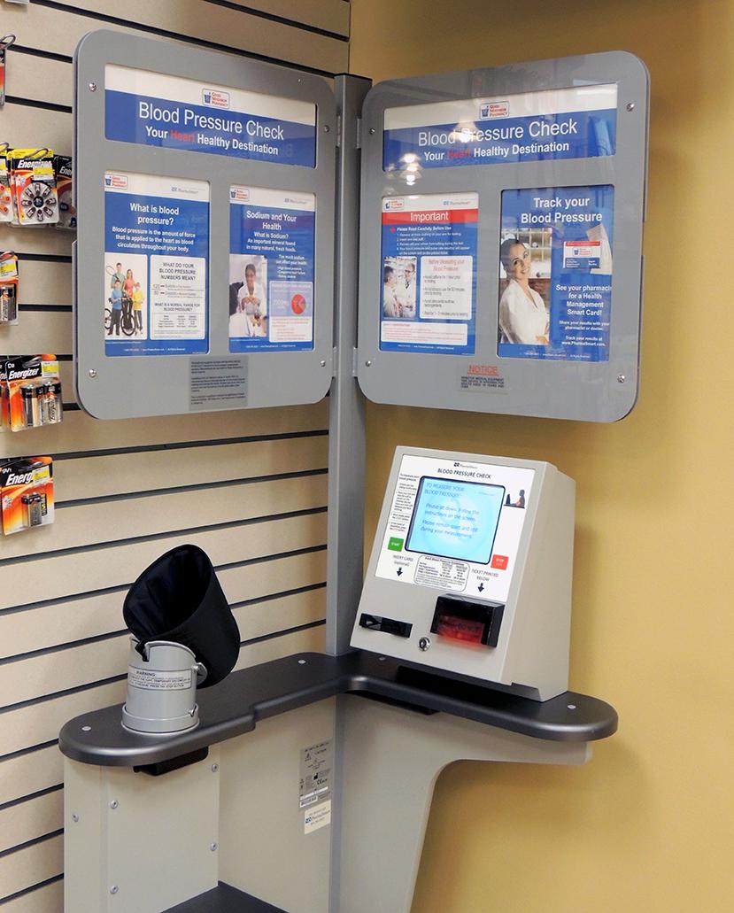PharmaSmart Blood Pressure Kiosk