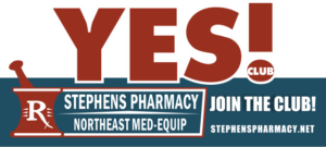 YES Loyalty Club at Stephens Pharmacy