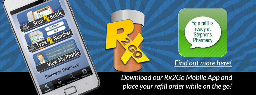 Rx2Go Mobile App from Stephens Pharmacy in Honesdale, PA