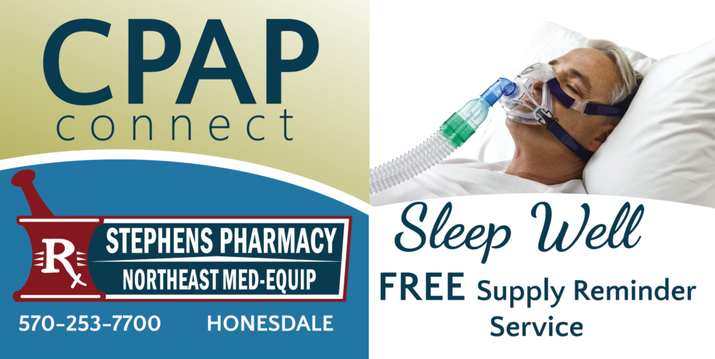 CPAP Connect service available at Stephens Pharmacy and Northeast MedEquip