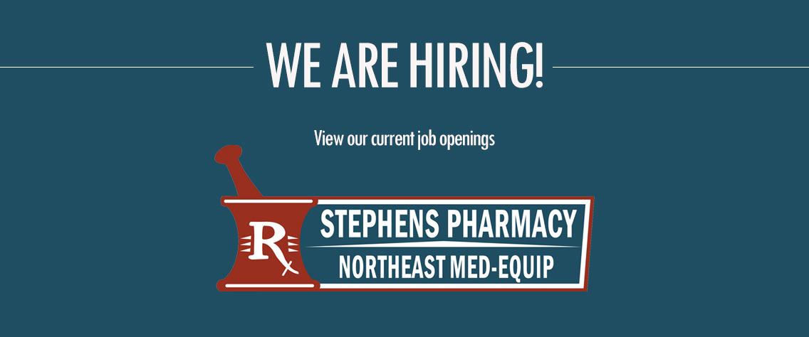Jobs at Stephens Pharmacy